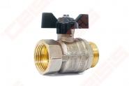 Rutulinis ventilis trumpa rankena v/I 3/4'' LD (22/-)