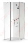 Dušo kabina Brasta Glass LINA 1050 x 780 x 1900 satin