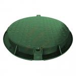 Šulinio dangtis gb PE 780/630 žalias