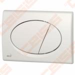 Mygtukas ALCA PLAST dvigubas, baltas