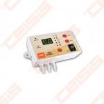 Valdiklis skirtas trieigių ir ketureigių pamaišymo vožtuvų valdymui, kurių pagalba stabilizuojama temperatūra šildymo sistemoje norint pasiekti optimalų komfortą patalpose nustatant norimą kambario temperatūrą termostato pagalba