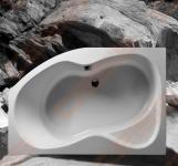 Vonia KYMA Neringa 150x94x60 cm su kojelėmis, dešinė