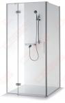 Dušo kabina Brasta Glass NINA PLIUS 910 x 900 x 2000 skaidrus stiklas