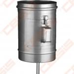 Vienasienė nerūdijančio plieno pravala JEREMIAS OV/EW01+07 su durelėmis (210 x 140mm) ir kondensato surinkėju