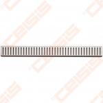 Grotelės ALCA PLAST Pure latakams APZ1 ir APZ101, ilgis 650 mm (blizigios arba matinės)