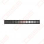 Grotelės latako Pure-550 juodos