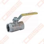 """Žalvarinis chromuotas (matinis) GIACOMINI R850 rutulinis ventilis dujoms Dn1/2"""""""