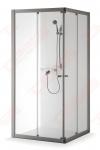 Dušo kabina Brasta Glass RASA 700 x 900 (pilkas / raštuot)