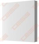 Difuzorius priglaistomas kvadratinis VENTMANN SIDE, 100mm pajungimas