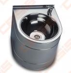Nerūdijančio plieno plautuvė SANELA su fontanėliu, vandens padavimą galima reguliuoti ranka