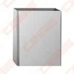 Nerūdijančio plieno šiukšliadėžė SANELA 360x160x435mm, blizgi, 26,5l