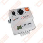 Valdiklis skirtas centrinio šildymo katilų ventiliatoriui ir cirkuliaciniam siurbliui įjungti arba išjungti automatiniu būdu