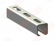 Perforuotas montažinis profilis NICZUK METALL-PL A 1,5 (30x30x1,5 mm), L- 2000 mm
