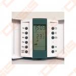 Patalpos termostatas Aube su grindų temperatūros jutikliais. Programuojamas savaitei. 4 temperatūros lygiai parai. Kabelio ilgis - 3m