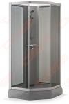 Dušo kabina Brasta Glass VAIVA PLIUS 900 x 900 x 2135 (p / s)