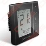 Programuojamas patalpos termostatas 230V, potinkinis, juodas