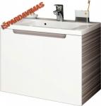 Spintelė praustuvui RAVAK CLASSIC SD 600 x 490 x 470 mm, espresso spalvos