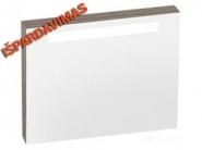 Veidrodis RAVAK CLASSIC SD su apšvietimu 600 x 70 x 550 mm, espresso spalvos