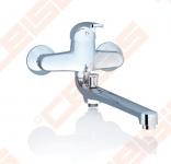 Sieninis praustuvo/vonios/dušo RAVAK Rosa RS051.00 maišytuvas su ilgu snapeliu, 150 mm