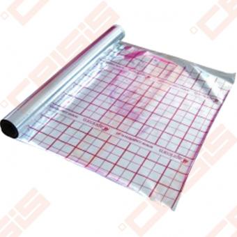 Aliuminio folija grindiniam šildymui 50m²