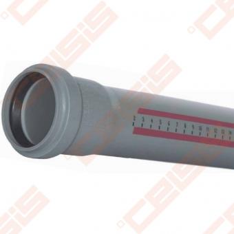 Polipropileno OSMA HTEM vamzdis Dn40mm x 0,5m