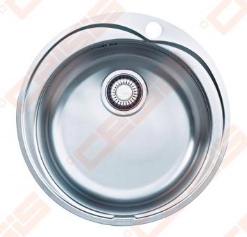 Nerūdijančio plieno Plautuvė FRANKE Ronda RON610-41 be ventilio