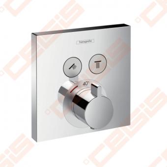 Dekoratyvinė dalis termostatiniam dušo maišytuvui HANSGROHE Select dviems taškams