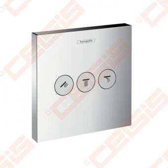 Dekoratyvinė dalis termostatiniam dušo maišytuvui HANSGROHE Select highflow trims taškams
