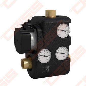 Pamaišymo mazgas LK Armatur ThermoMat 2.0 LK 810; 60°C; Su Grundfos UPM3 cirkuliaciniu siurbliu