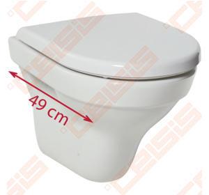 Unitazas JIKA Tigo Compact,  pakabinamas
