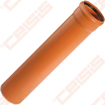PVC OSMA KGEM vamzdis Dn110mm x 5m