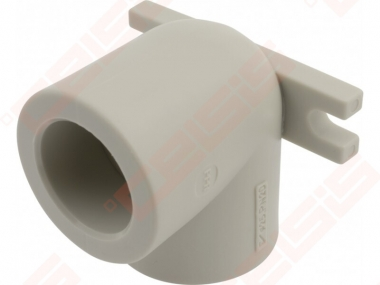 Alkūnė FV-PLAST PPR 90° Dn20 (tvirtinama)