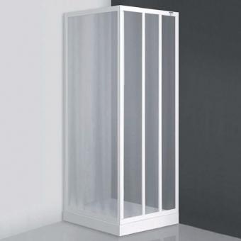 Dušo durys ROTH ld3/95  su baltais profiliais ir skaidraus plastiko užpildu. Slankiojančios dušo durys nišai arba kombinacijai su šonine siena Roth LSB. Instaliavimo dydis (y) 940–1000
