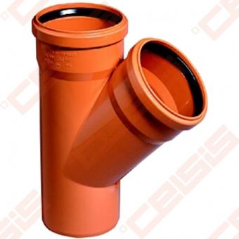 PVC OSMA KGEA 45° trišakis Dn110
