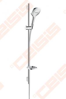 Dušo komplektas HANSGROHE Raindance Select E 120 3jet EcoSmart 9 l/min / Unica S Puro 0,90 m