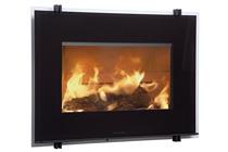 Plieninis židinio ugniakuras HWAM I 30/55 (841x619x470); 7kW