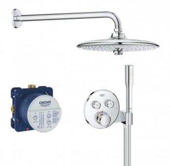 Termostatinė potinkinė dušo sistema Grohe SmartControl Euphoria