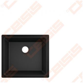Plautuvė Hansgrohe S510-U450 45 x 50, juodas grafitas