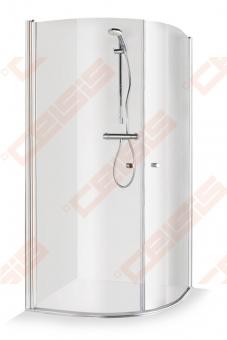 Dušo kabina Brasta Glass Katarina 100x100 cm, skaidriu stiklu