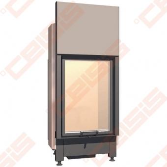 Plieninis židinio ugniakuras SCHMID LINA 5580 H (640 x 1565 x 520); 3,4-7,4kW