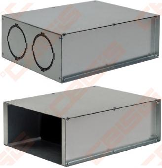 Grotelių dėžutė H-200x100 2x (75 – 90)