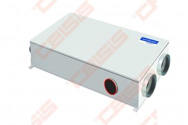 Įrenginys su rotaciniu šilumokaičiu Domekt-R-700-F-C6  palubinis kairinis, BE PULTO