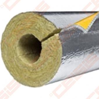 Vamzdžių termoizoliacinis mineralinės vatos kevalas ISOVER ULTIMATE Protect 1000 S ALU Dn18x20
