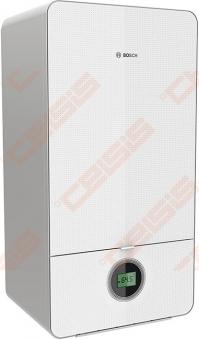 Vienos funkcijos dujinis kondensacinis katilas Bosch CONDENS 7000i GC 7000iW 24 P; 3,0-25,1kW Baltos spalvos