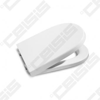 Unitazo dangtis ROCA Meridian Compact su Soft close mechanizmu lėtam užsidarymui