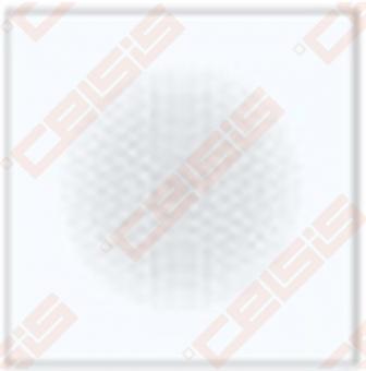 Grotelės AVANTGARDE Baltos 160x160 mm