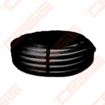 Lankstus ortakis profi-air classic juodas, Dn75/63mm Lygus vidinis antistatinis paviršius ( Max. 30M³/h )