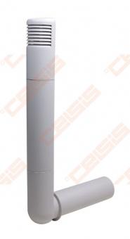 Deflektorius VILPE Ross 125-135 šviesiai pilkas