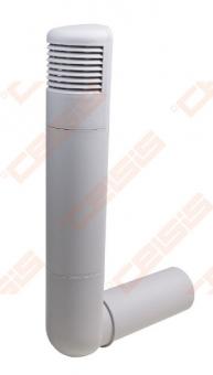 Deflektorius VILPE Ross 160-170 šviesiai pilkas