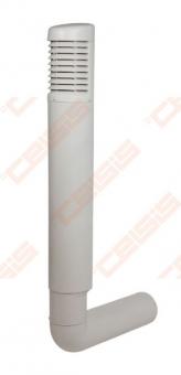 Deflektorius VILPE Ross 200-210 šviesiai pilkas
